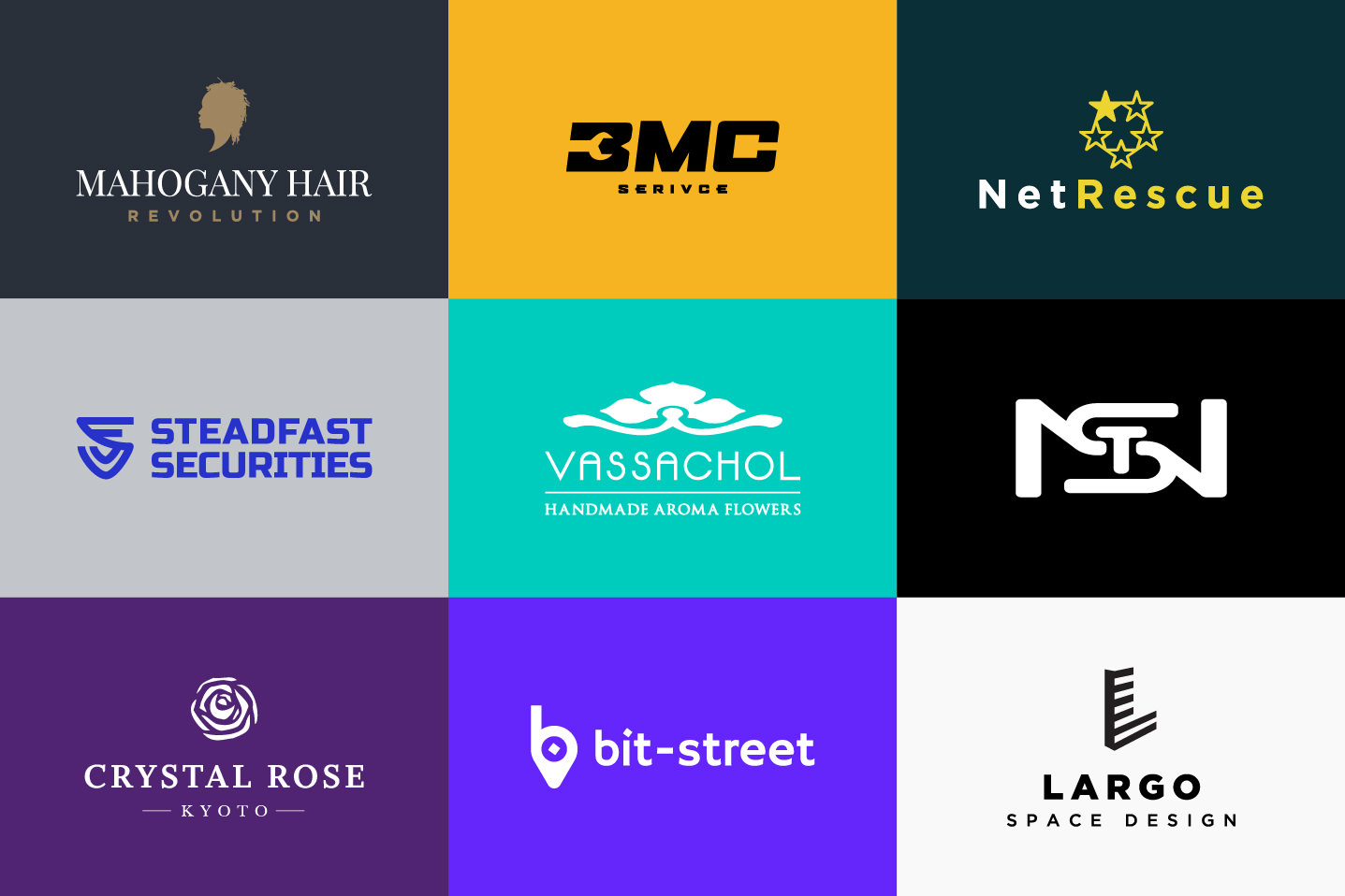 Logo design showcase